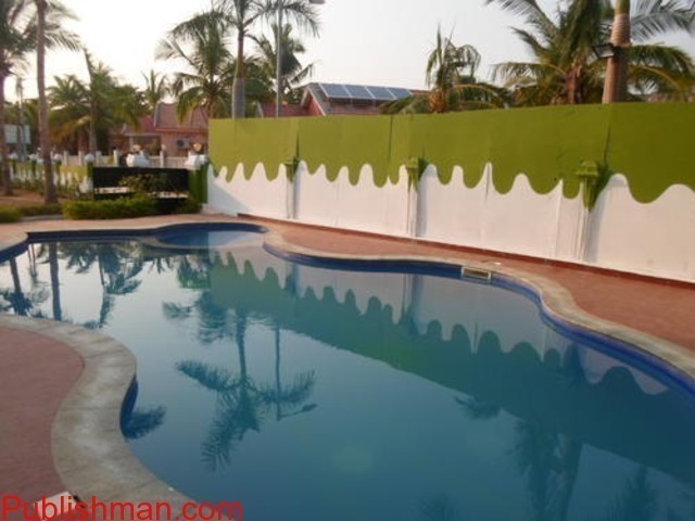 beach house in ecr for daily rent with swimming pool,Lawn,Beach - 4/4