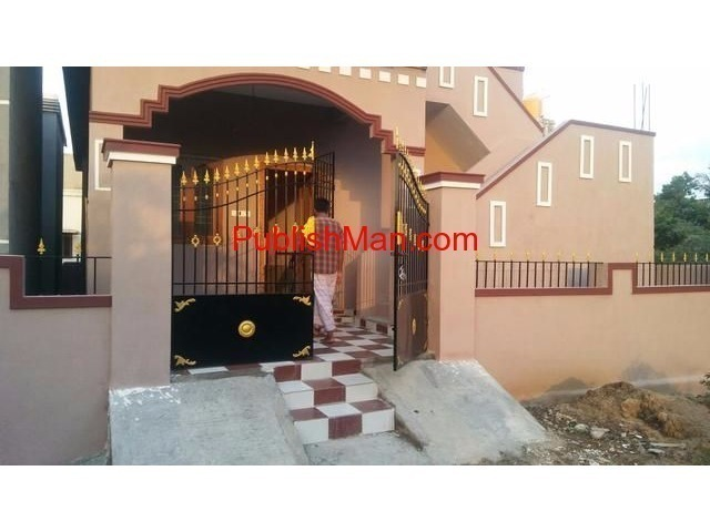 New Independent 2bhk house sale opposite to Veppampattu Rlwy Stn - 3/3