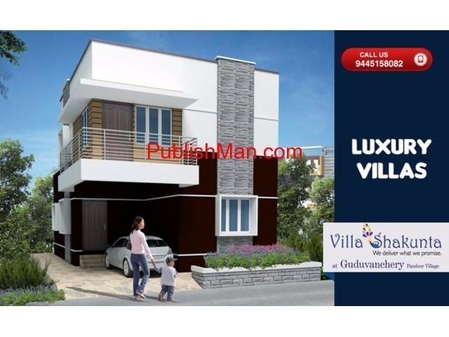 Sathyam Villa Shakunta - 2 & 3bhk Luxury Villas on sale - 2/3