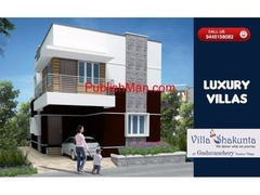 Sathyam Villa Shakunta - 2 & 3bhk Luxury Villas on sale