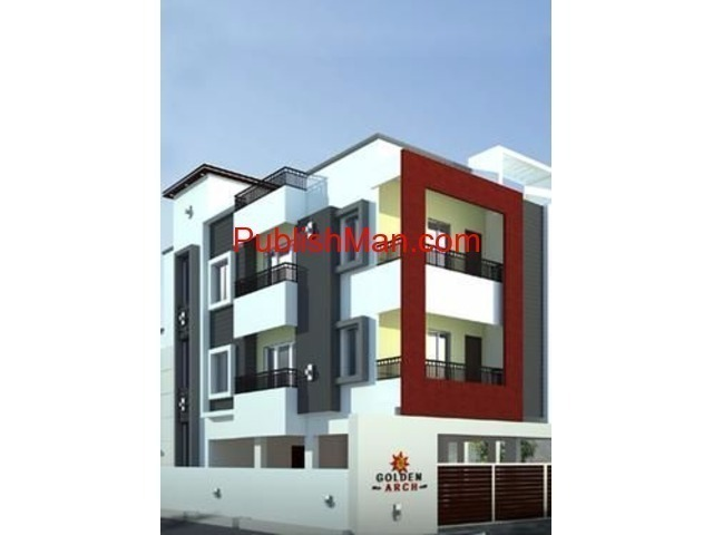 JKB Golden Arch - 1,2,3 BHK Apartments on sale at Kolapakkam - 1/4