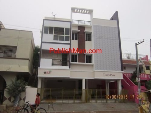 Flat sale at villivakam just   9km drive  bus stop - 3/4