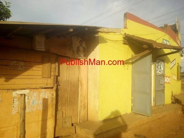 60 decimals property on the main of Entebbe road - 1/6
