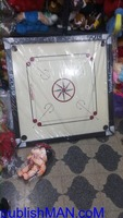 Wooden Finish 32 Inch Full Size Carrom Board - Image 2/2