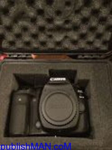 Brand New Sealed Canon EOS 5D Mark IV DSLR Camera with 247 - 1/3