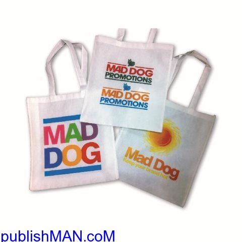 Promotional Calico Bags Perth and  Custom made Calico Bags Australia - Mad Dog Promotions - 1/3