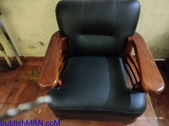 Teak wood sofa without cushion second hand price | Used Home & Office ...