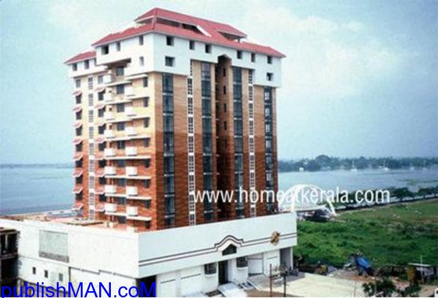 Fully furnished waterfront for sale at marine drive Cochin - 2/3