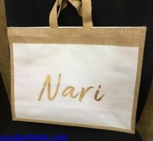 we design & man ufacture ECO-FRIENDLY bags of  JUTE, COTTON & CANVAS fabrics for BRANDING &a - Image 2/4