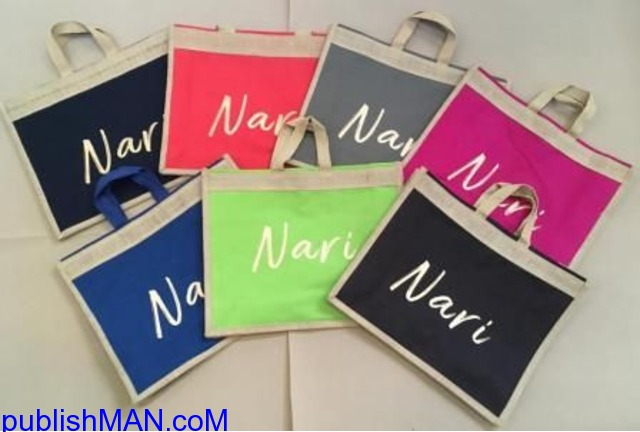 we design & man ufacture ECO-FRIENDLY bags of  JUTE, COTTON & CANVAS fabrics for BRANDING &a - 3/4