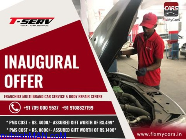 Doorstep Car Service in Bangalore | Fixmycars.in - 1/1