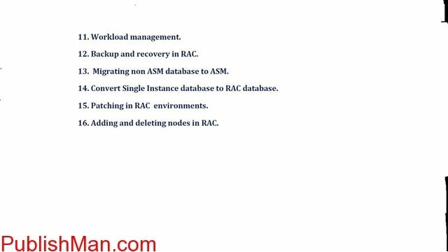 Starting new batch for RAC it's online training - 2/2