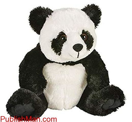 Tickles Panda Soft Toy Black And White - 14 cm - 1/1