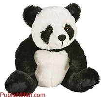 Tickles Panda Soft Toy Black And White - 14 cm