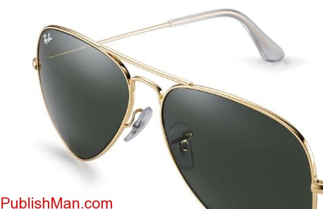Ray-Ban Aviator Classic RB3025 Gold - Metal - Green Lenses ... - 1/4