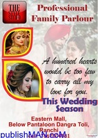 bridal make-up in ranchi